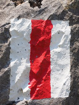 Directory, White Red White, Characters, Waymarks, Mark