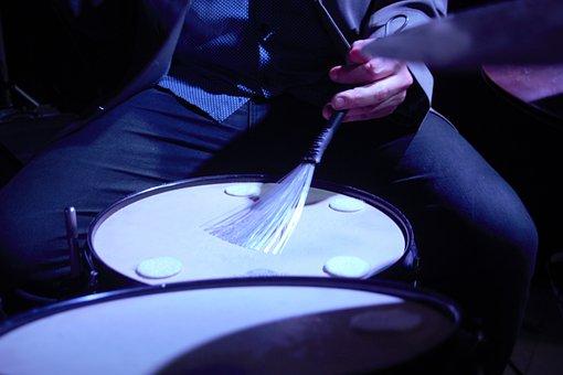 Drummer, Jazz, Musician, Drums, Instrument, Drum, Young