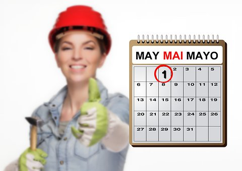 Holiday, 1St May, Worker, Labour, Day