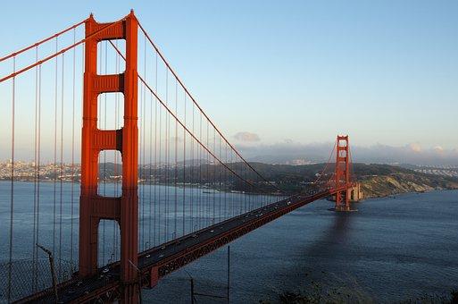 Golden Gate Bridge, Bridge, San Francisco, Architecture