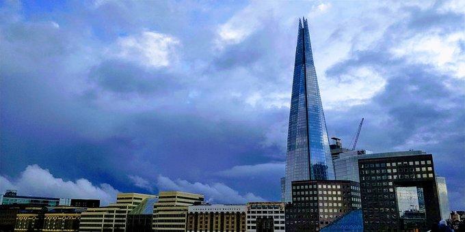 Shard, London, Architecture, Building, England
