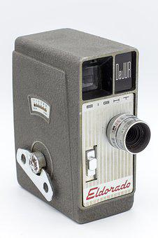 Camera, Movie, Video, Film, Cinema, Media, Filmstrip