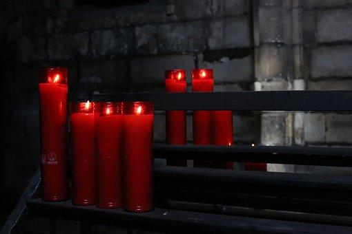 Candles, Church, Passion Week, Prayer, Light