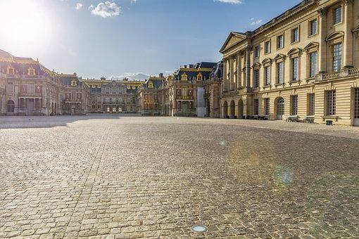Versailles, Paris, France, Castle, Garden, Architecture