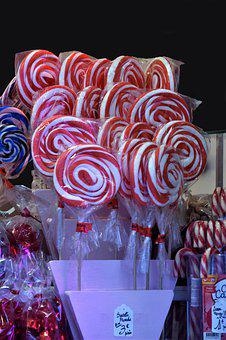 Candy, Lollipop, Colorful, Delicious, Confectionery