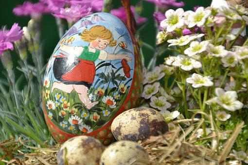 Egg, Painted, Easter, Decoration, Easter Eggs, Colorful