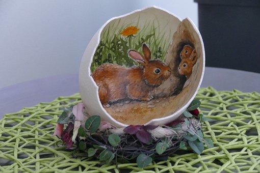 Easter Egg, Rabbit, Easter Theme
