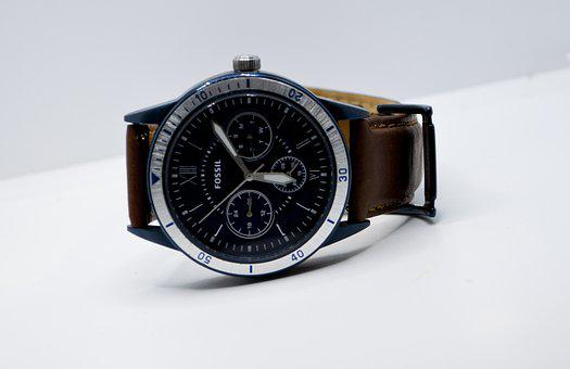 Wrist, Watch, Fossil, Time, Clock, Technology, Fashion