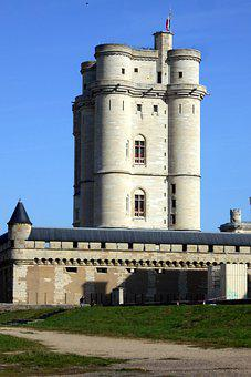 France, île-de-france, Vincennes, Castle, Keep, Tourism