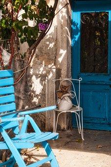Chair, Door, Veranda, Garden, Architecture, Wood, Decor