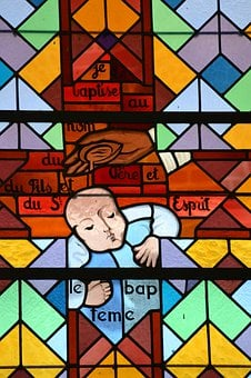 Stained Glass, Window, Church, Color, Glass, Colorful