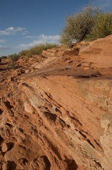 Horseshoe Bend, Desert, Gorge, Usa, Page, Sand Stone