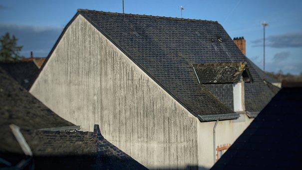 House, Roof, Slate Tiles, Roof Slates
