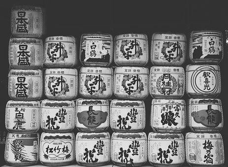 Alcohol, Beer, Sake, Barrel, Wine, Brew, Japan, Asia