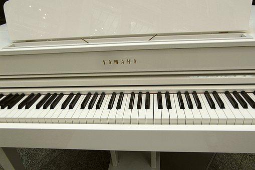Piano, Keyboard Instrument, Keyboard, Keys, White