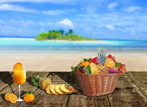 Mar, Fruit, Fruit Basket