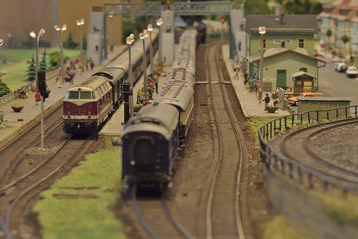 Model Railway, Diesel Locomotive, Model Train