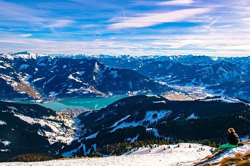 Alps, Tirol, Austria, Landscape, Mountains