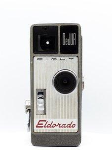 Camera, Movie, Video, Film, Cinema, Media, Filmstrip