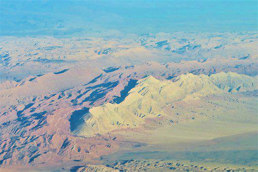 It's In The Air, Panorama, Plane, Land, Image