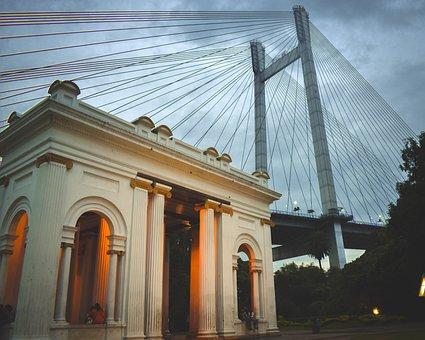 Princep Ghat, Kolkata, Old, Heritage, Memorial, History