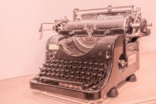 Typewriter, Retro, Writing, Antique, Machine