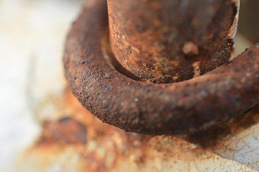 Rust, Metal, Rusted, Texture, Crown, Old, Iron, Chain