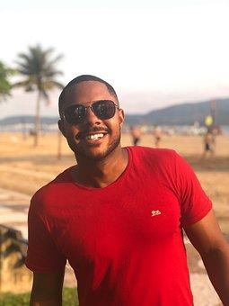 Beach, Santos City, City, Santos, Brazil, Brasil