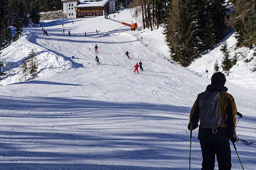 Ski, Outdoor, Landscape, Sky, Skiing, Snow, Winter