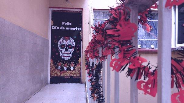 Day Of The Dead, Decoration, Skulls, Celebration, Death