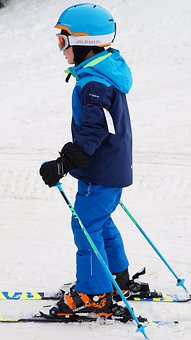 Skiing, Children Skiing, Snow, Ski, Child