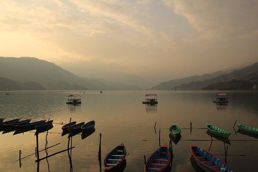 Phewa Lake, Lakes, Nepal, Travel, Tourism, Pokhara