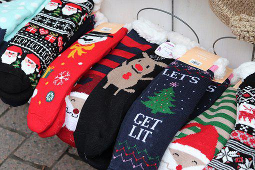 Winter Socks, Colorful, Christmas Gifts, Advent