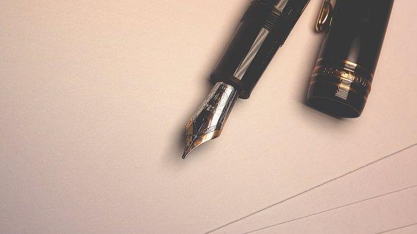 Letter, Pen, Writing, Ink Pen