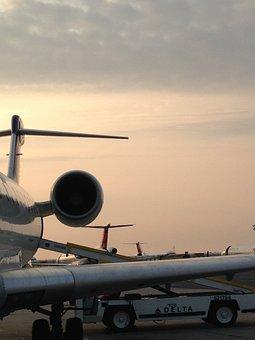 Airplane, Jet Engine, Wing, Engine, Jet, Aircraft