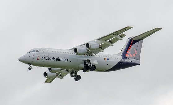 Aircraft, Landing, Avro Regional Jet, Rj85