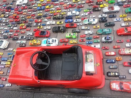 Toy Car, Autos, Miniature, Vehicles, Collection