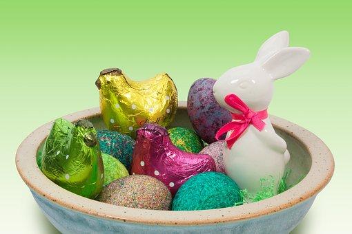 Easter, Easter Nest, Easter Bunny, Porcelain, Loop, Egg