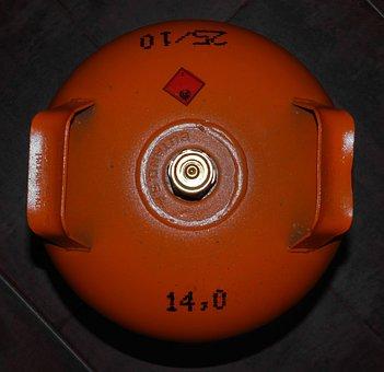 Gas Cylinder, Butane, Gas