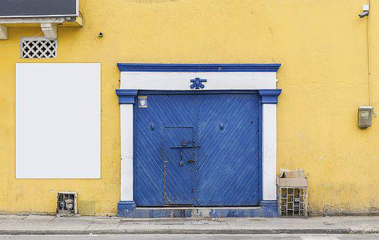 Building, Old, Colonial, Doors, Architecture, Grunge
