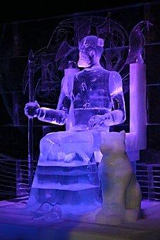 Ice Sculpture, Art, Ice Worlds, Exhibition