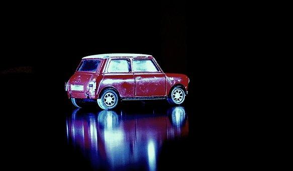 Car, Mini, Morris, Red, Mini Cuper, Auto, Vehicle