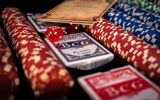 Poker, Blackjack, Casino, Black, Red, Dealer, Gambling