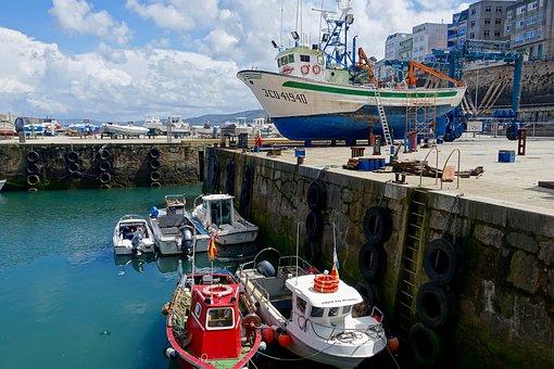 Port, Vessels, Maintenance, Dry Dock, Harbor, Shipping