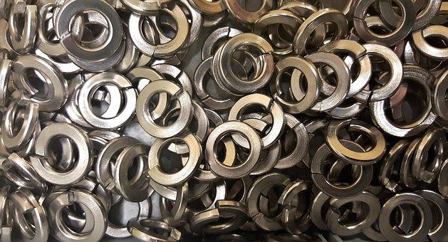 Washers, Split Washers, Split Rings, Split Lock Washers
