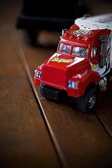 Truck, Toy, Vehicle, Fun, Transportation, Childhood