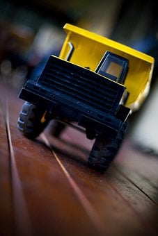 Dumptruck, Tonka, Truck, Toy, Vehicle, Fun