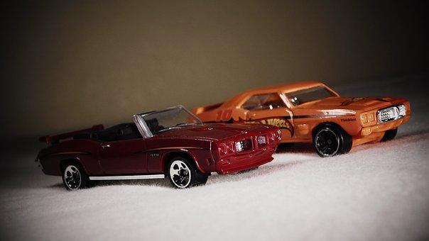 Pontiac, Gto, Diecast, Miniature, Maquette, Wheels