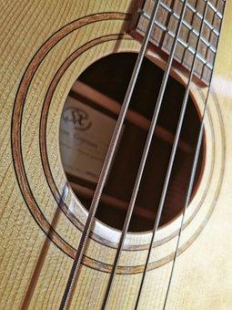 Guitar, Bass, Acoustic Guitar