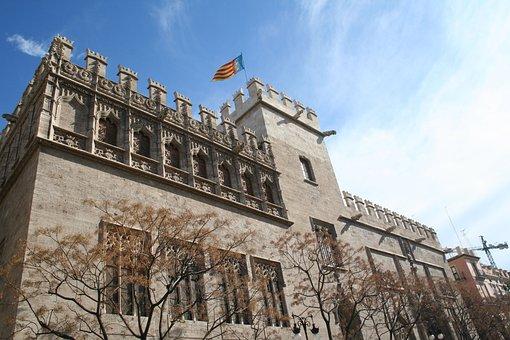 Lonja, Valencia, Monument, Architecture, Culture, City